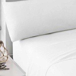 Juego de sábanas 100% Algodón PERCAL 180 Blanco cama-180