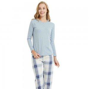 Pijama Largo Franela Fino...