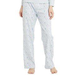 Pijama Largo Algodón UNICORNIO CELESTE pijama-largo