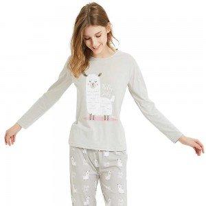 Pijama Largo Algodón LLAMA