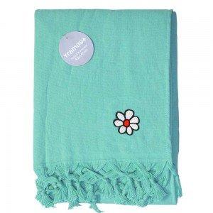 Comprar toalla playa verde