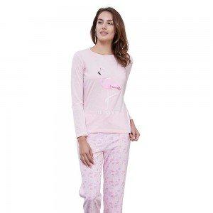 Pijama Largo Algodón FLAMENCO