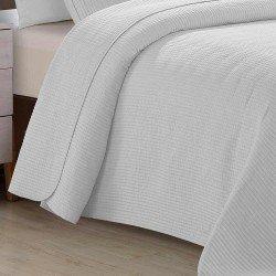 Colcha Jacquard Bordado gris perla 200x270 cama-105