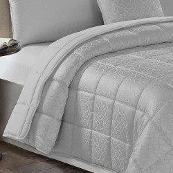 Colcha JACQUARD 200 x 270 MAYA GRIS PERLA 180 gr cama-105