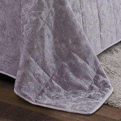 Colcha jacquard chenilla Ornamental perla 200x270 80gr cama-105