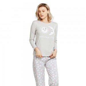 Pijama Largo Algodón NOCHE...