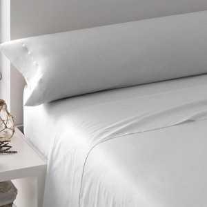 Juego de sábanas blanco 90