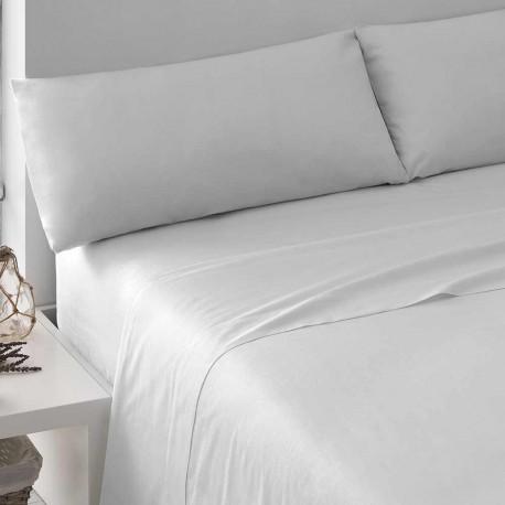Juego de sábanas blanco 180 cama-180