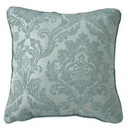 Cojin Jacquard Chenilla Ornamental verde 45X45 - Funda + Relleno cojines-decorativos-estampados