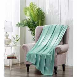 Manta Terciopelo Verde Tiffany mantas-terciopelo
