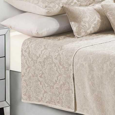 Colcha fina 280x270cm Jacquard Chenilla Ornamental Natural cama-180