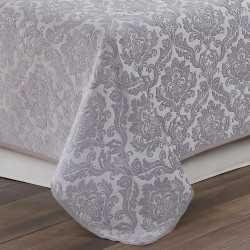 Colcha fina 240x270 Jacquard Chenilla Ornamental Perla cama-135