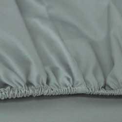 Sábana bajera algodón 180 Verde Tiffany cama-180