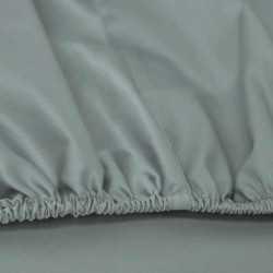 Sábana bajera algodón 200 Verde Tiffany cama-200