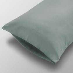 Funda Almohada lisa Algodón 105 Verde Tiffany cama-105