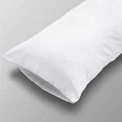 Funda Almohada lisa blanco 90 cama-90