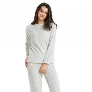 Pijama coral ESTRELLITAS Perla