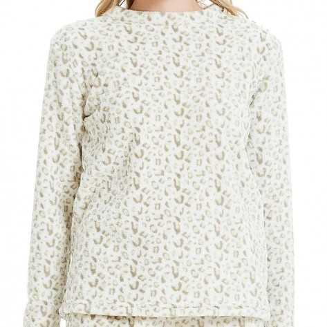 Pijama coral MOZAMBIQUE Natural/beige pijama-invierno