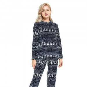 Pijama coral PAPI Azul