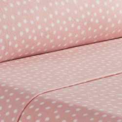 Juegos de sábanas termales 90 TOPO MEDIANO Rosa Palo cama-90