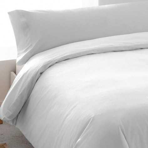Funda Nordica algodón Tintura blanco 135/140 cama-135
