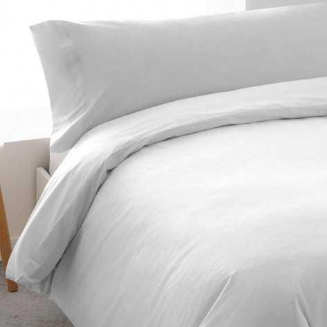 Funda Nordica  Algodon TINTURA 180 Blanco cama-180