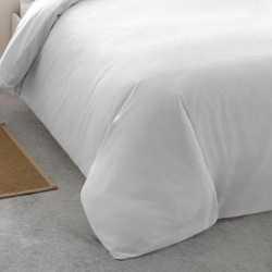 Funda Nordica  Algodon TINTURA 90 Blanco cama-90