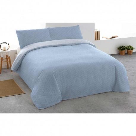 Funda Nordica SOLITO Rev 180 Azul Indigo cama-180