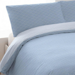 Funda Nordica SOLITO Rev 200 Azul Indigo cama-200