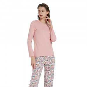 Pijama Manga Larga Viscosa...