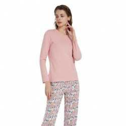 Pijama Manga Larga Viscosa MIRIAN pijama-largo