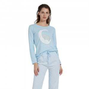 Pijama Largo Algodón...