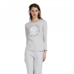 Pijama largo algodón NO...