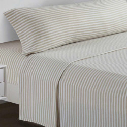 Juegos de sábanas termales 105 RAYA HORIZONTAL Arena cama-105