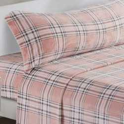 Juego de sábanas terciopelo 90 CUADRO ANDREA cama-90