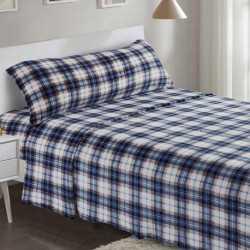 Juego de sábanas terciopelo 90 CUADRO VERA cama-90