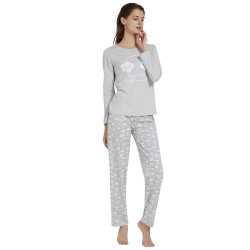 Pijama Mujer Mangas Largas RAIMBOW Perla pijama-largo