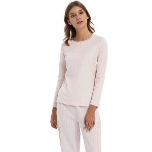Pijama Mujer Franela raya...