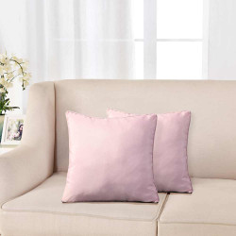 Cojín Oxford Rosa 45x45 - Funda + Relleno cojines-decorativos-lisos