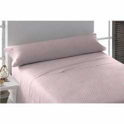 Juego de sábanas algodón OHIO REV Rosa 105 cama-105