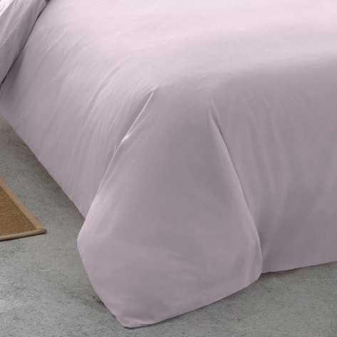 Funda Nordica  Algodón PERCAL 90 Malva cama-90