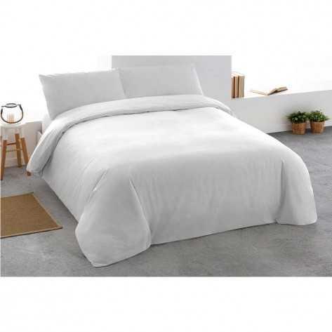 Funda Nordica  Algodón PERCAL 150/160 Blanco cama-150