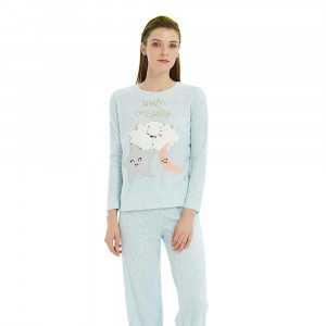 Pijama Polar RISA Celeste