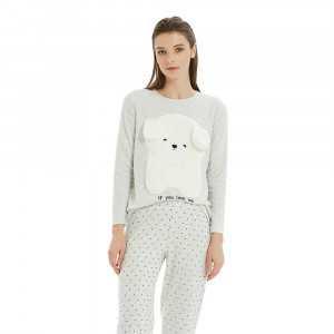Pijama Polar KOALA Gris Perla