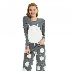 Pijama Polar CORDERITO Gris...