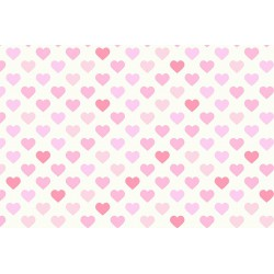 J. S. algodón 90 LITTLE HEARTS