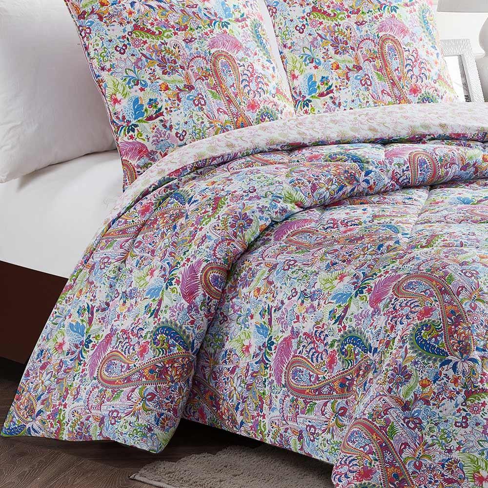 Edredón Conforter 180x270 Enca Turquesa