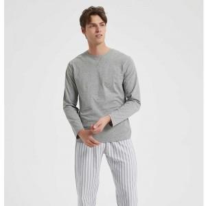 Pijama hombre franela RAYA...