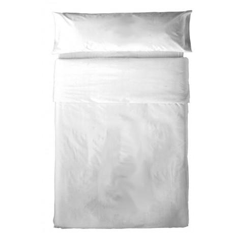 Juego de sábanas algodón 90 BLANCO