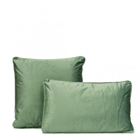 coussin velours verde. Black Bedroom Furniture Sets. Home Design Ideas